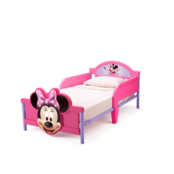 Delta Children Disney Minnie Mouse Childs Toddler Bed1
