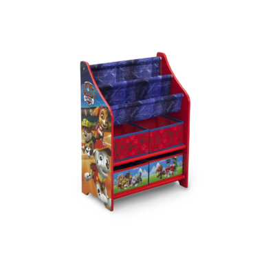Delta Children Disney Paw Patrol Book case and Toy Organizer