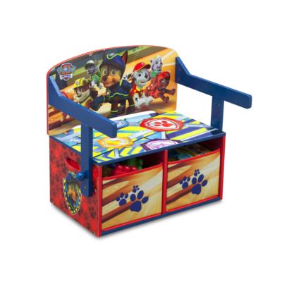 Delta Children Disney Paw Patrol Convertible Desk and Bench