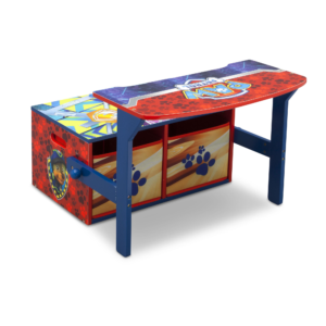 Delta Children Disney Paw Patrol Convertible Desk and Bench1