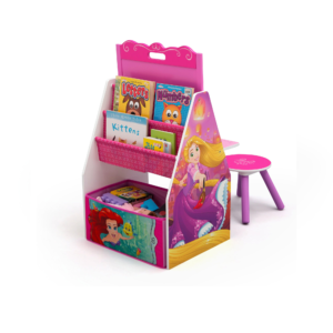 Delta Children Disney Princess Activity Bookcase