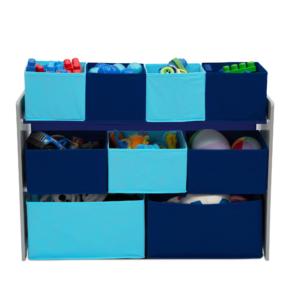 Delta Children blue Multi bin Organizer1