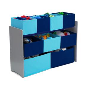Delta Children blue Multi bin Organizer12