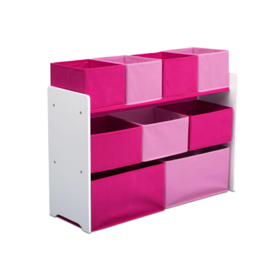 Delta Children pink Multi bin Organizer