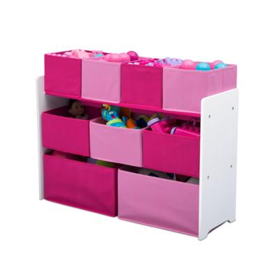Delta Children pink Multi bin Organizer1