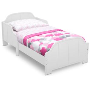 Delta Children white Toddler bed