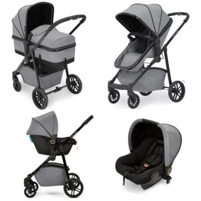 Ickle Bubba Moon 3-in-1 Travel System - Space Grey