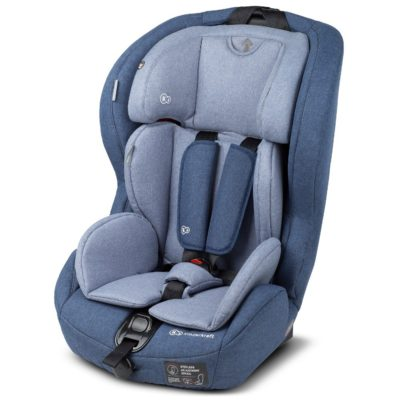 Kinderkraft Safety Fix ISOFIX Group 1,2,3 Car Seat - Navy 2