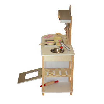 Liberty House Toys - Breakfast Bar Wooden Toy Kitchen with accessories5