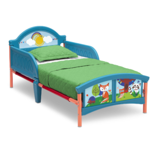 WOODLAND TODDLER BED fox1