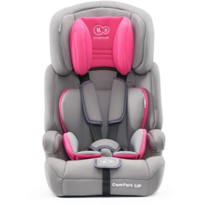 Kinderkraft Pink Comfort Up Car Seat