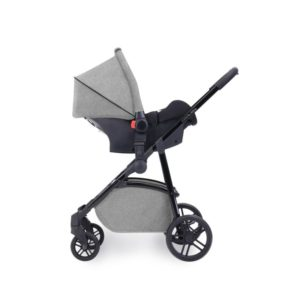 Ickle Bubba Moon 3 In 1 Isofix Travel System Silver Grey