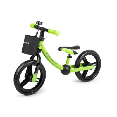 Kinderkraft Balance Bike 2-Way Next with Accessories - Green