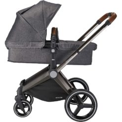 mee-go venice child twilight grey pram stroller