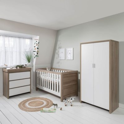 Tutti Bambini Modena 3 Piece Nursery Room Set/Mattress/Accessories