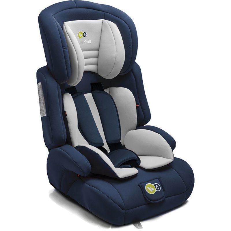 KinderKraft Comfort Up Group 1,2,3 Car Seat (Navy)