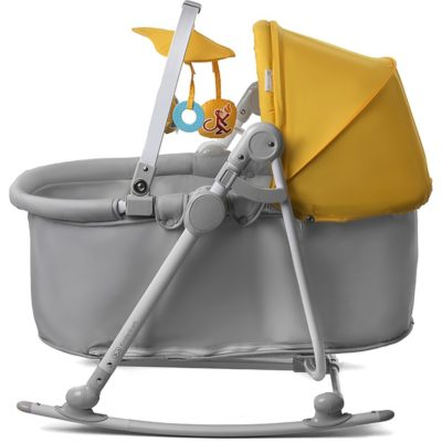KinderKraft Unimo 5 in 1 Cradle (Yellow)