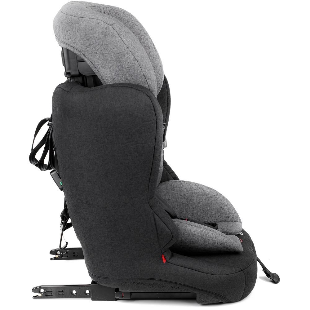 Kinderkraft Safety Fix ISOFIX Group 1,2,3 Car Seat - Black/Grey