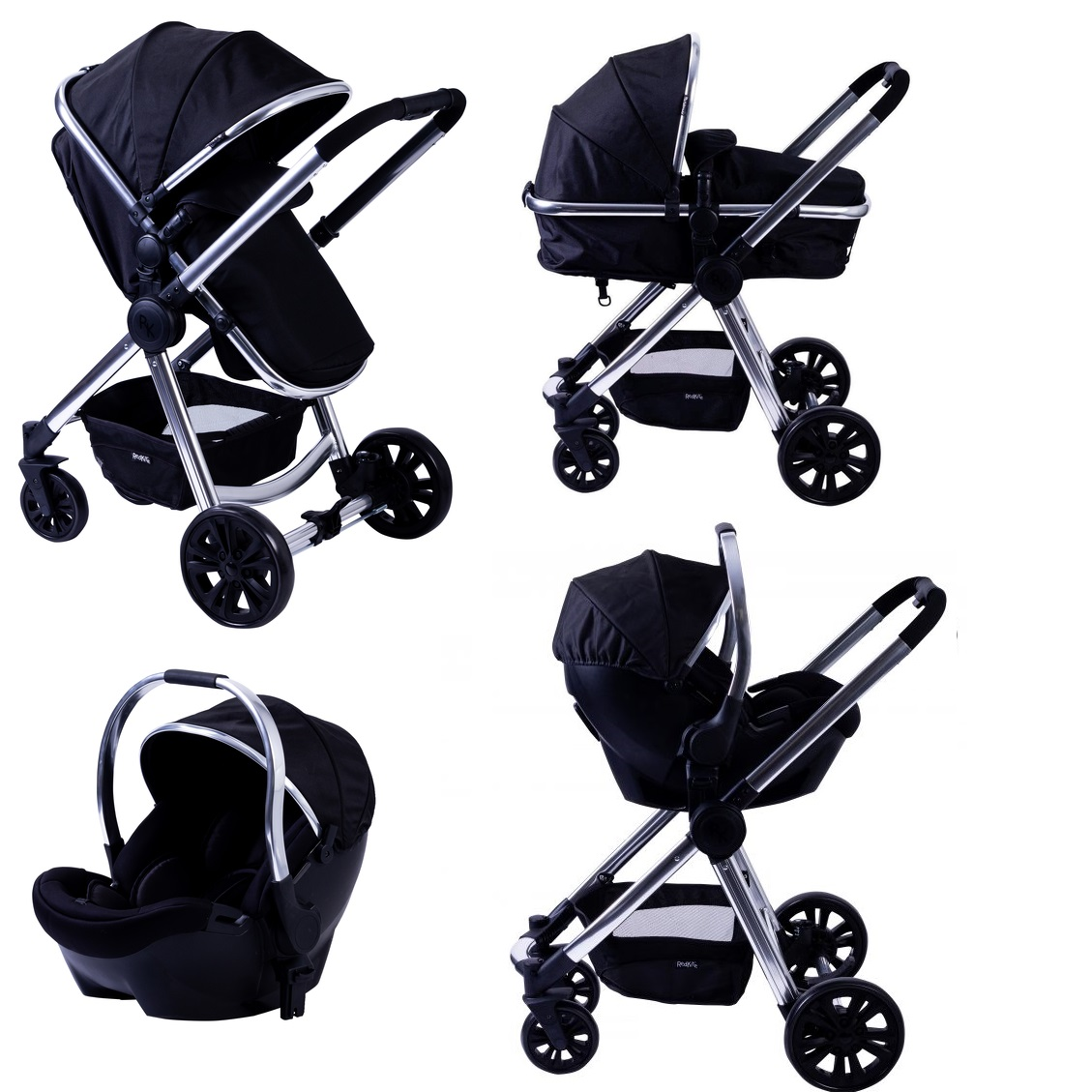 601a16fcaee75 Red Kite Push Me Fusion Travel System - Onyx - Smart Kid Store