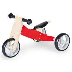 Pinolino Mini 4in1 Balance training tricycle - Red