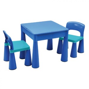 5 in 1 Multipurpose Activity Table 2 Chairs – BLUE