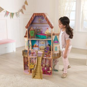 KidKraft Disney Belle's Enchanted Castle