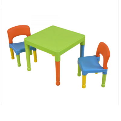 Liberty House Toys Multi-Coloured Table & 2 Chairs Set