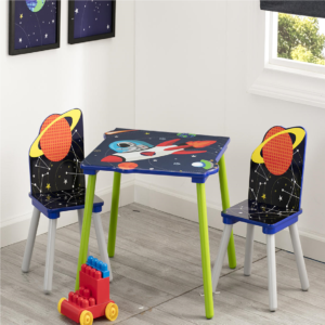 ASTRONAUT TABLE & CHAIR SET