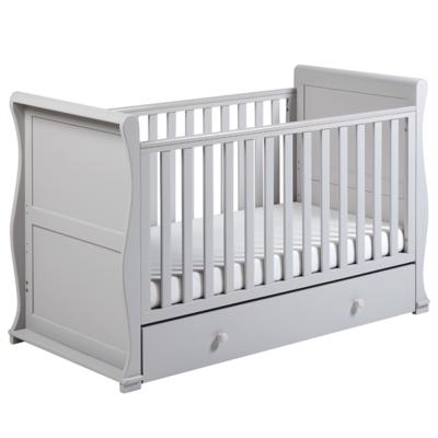 Alaska Grey Cot Bed 1