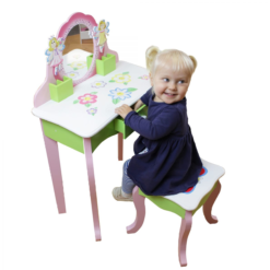 Butterfly Dressing Table with Stool1