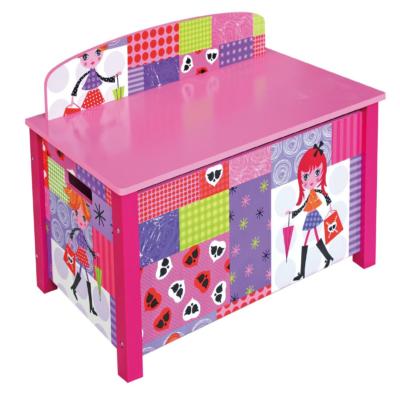 Fashion Girl Toy Box