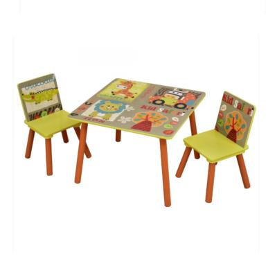 Liberty House Toys - Kid Safari Table and Chair Set