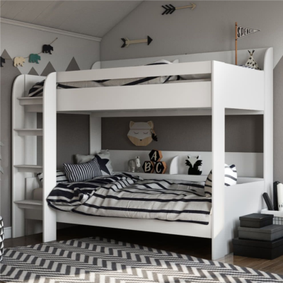 Kidsaw, Aerial Bunk Bed - White