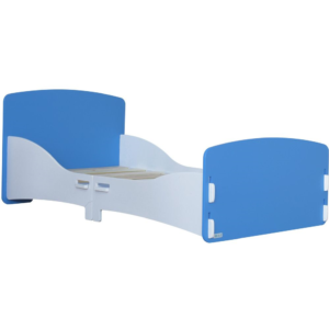 Kidsaw, Junior Toddler Bed in Blue and White