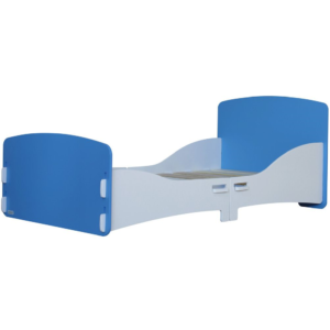 Kidsaw, Junior Toddler Bed in Blue and White2