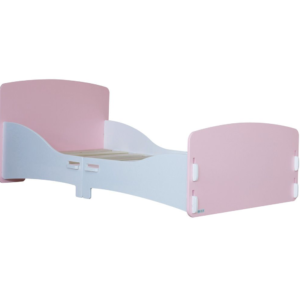 Kidsaw, Junior Toddler Bed in Pink and White