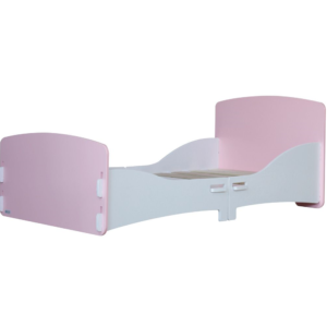 Kidsaw, Junior Toddler Bed in Pink and White2