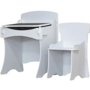 Kidsaw, Kinder Desk & Chair White