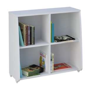 Kidsaw, Loft Station Bookcase - White