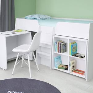 Kidsaw, Loft Station Bundle - White