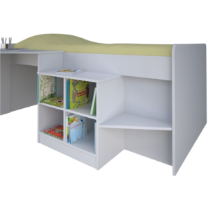 Kidsaw, Pilot Cabin Bed - White1