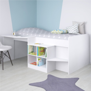 Kidsaw, Pilot Cabin Bed - White4