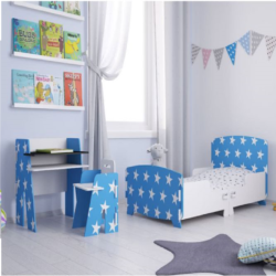 Kidsaw, Star Desk & Chair - Blue2