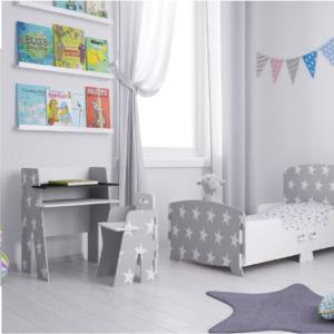 Kidsaw, Star Desk & Chair grey2