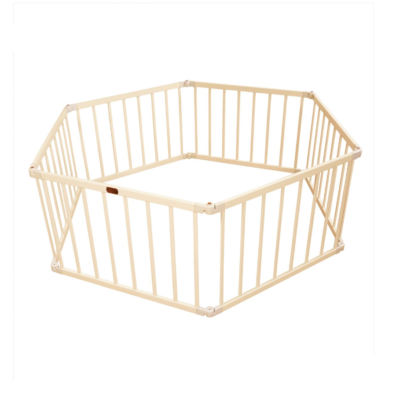 Liberty House Toys - Little Boss Playpen Hex - White