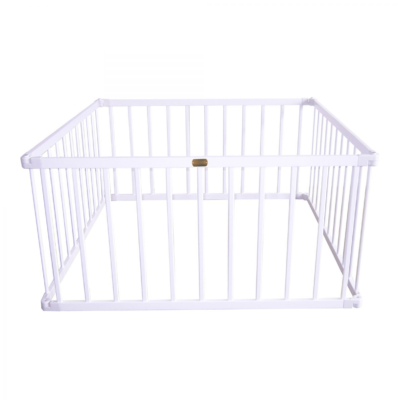Little Boss Playpen Square - WhiteLittle Boss Playpen Square - White