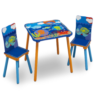 OCEAN TABLE & CHAIR SET