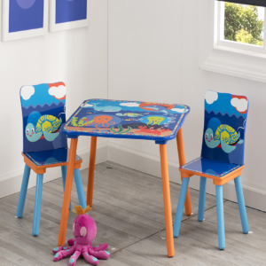 OCEAN TABLE & CHAIR SET1