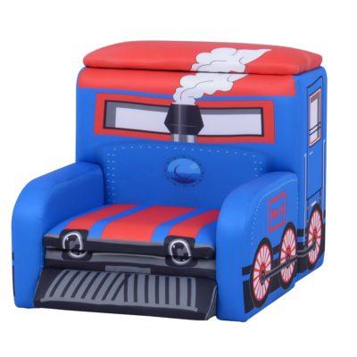 Liberty House Toys Train Sofa with Storage