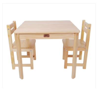 Liberty House Toys - BOSS Table & Chairs Set – NATURALLiberty House Toys - BOSS Table & Chairs Set – NATURAL
